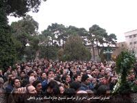 جمعیت حاضر در مراسم